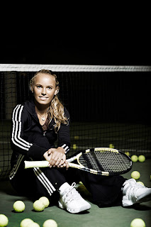 Caroline Wozniacki is playing the Nordea Danish Open