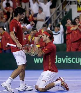 Fernando Verdasco and Feliciano Lopez are Davis Cup heroes