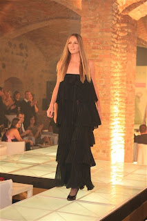Magdalena Rybarikova at the Orange Fashion Show