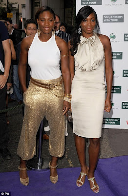 Williams sisters wimbledon party