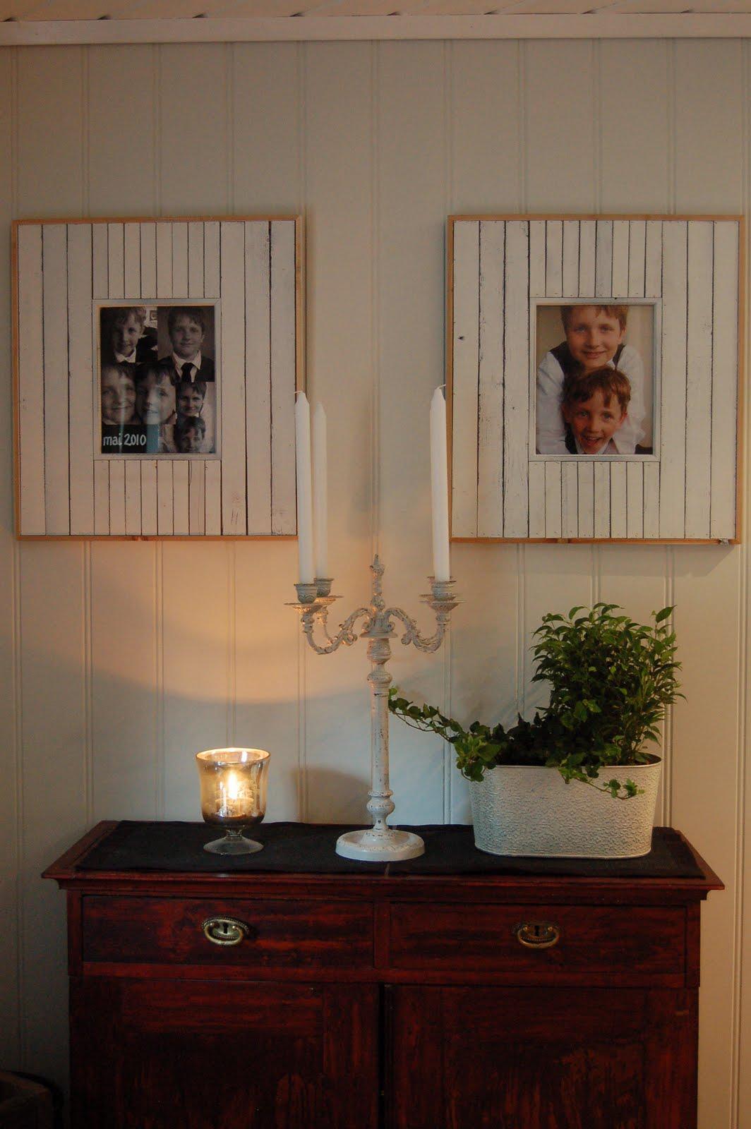 Fra drøm til virkelighet: ...litt styling av stue og kjøkken ...