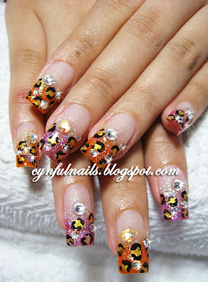 Cynful Nails: Leopard Prints!