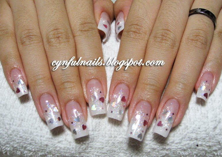 Long Pink And White Acrylic Nails – ledufa.com