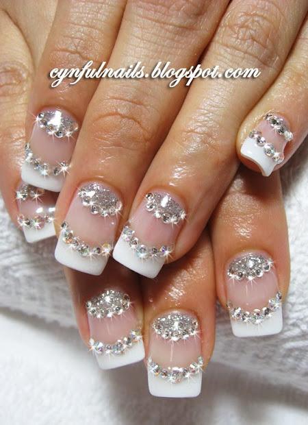 cynful nails bridal nails