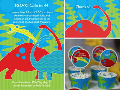 Celebration Shoppe Dino pack