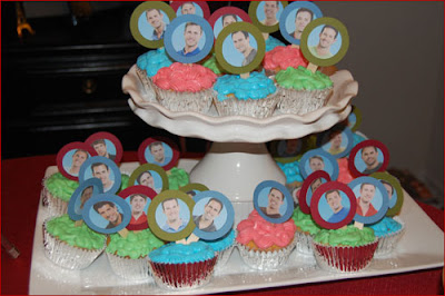 The Bachelorette cupcakes