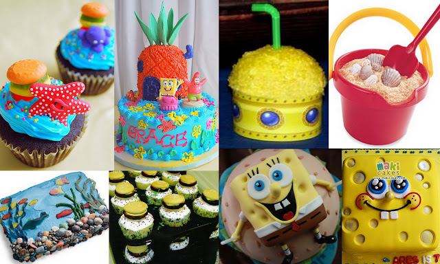 Spongebob Squarepants party food