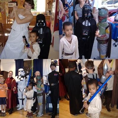 Pottery Barn Kids Star Wars Event 2008