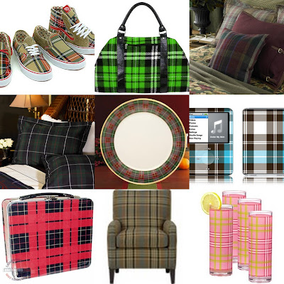 plaid collage