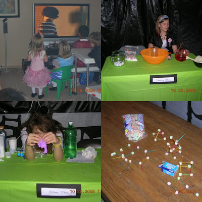 Mad Scientist Party activities