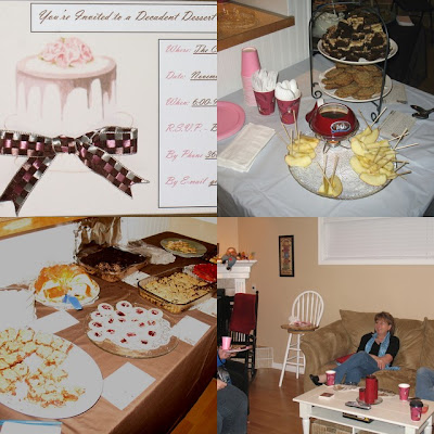 Christine's Dessert Party Collage