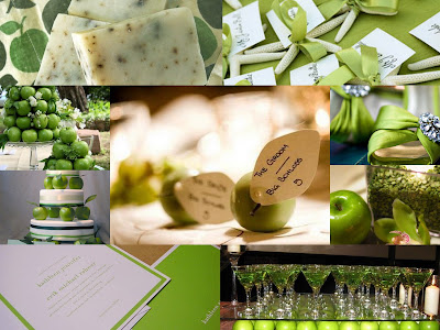 green apple wedding inspiration