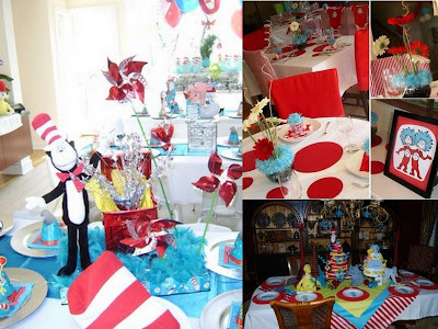 Seuss inspired parties