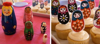 Matryoshka Doll Party