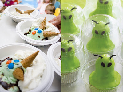 Monster/Alien party treats