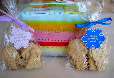 Parker's Crazy Cookies birthday cookies