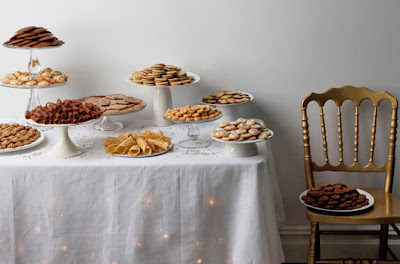 Cookie buffet instead of a wedding cake