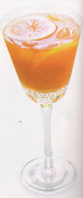 Sandra Lee Carrot-Ginger Cocktail