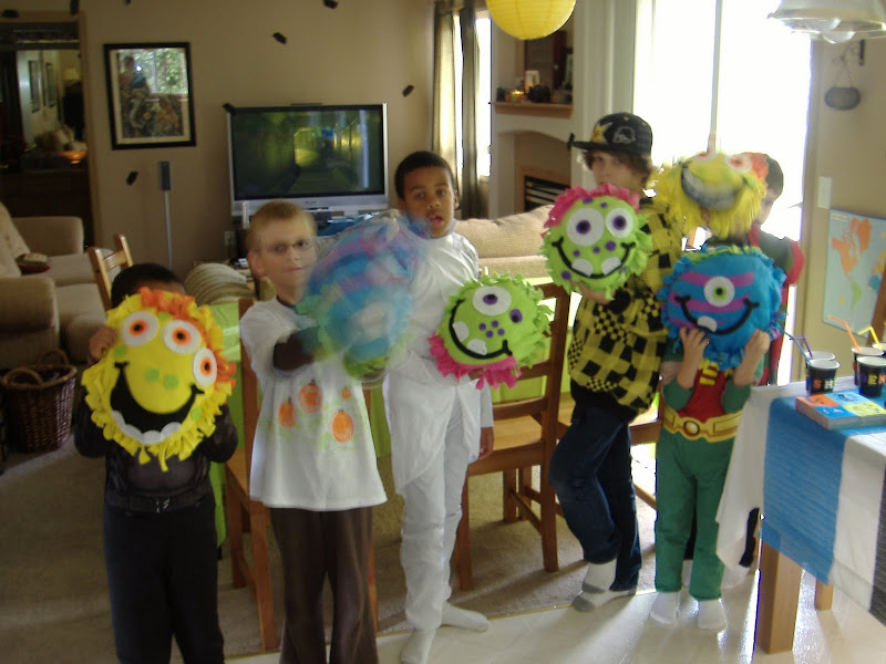 Monster Mash Bash pillows