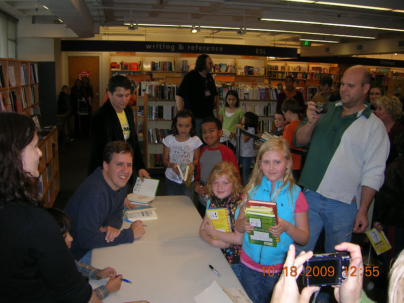 Diary Of A Wimpy Kid book signing