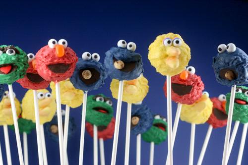 Bakerella Sesame Street pops 2