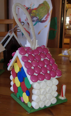 gingerbread bird house 2