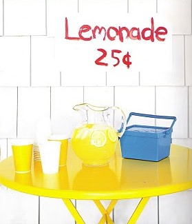 Labor Day lemonade stand