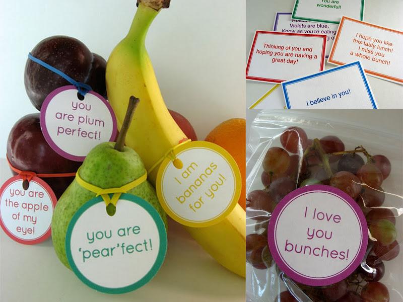 Alpha Mom fruit tags