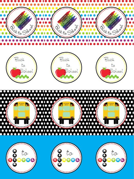 Tweedle Design back to school printable