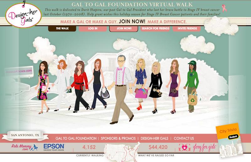 Gal To Gal Virtual Walk