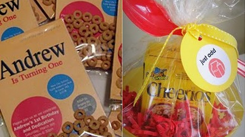 Cheerios first birthday party ideas