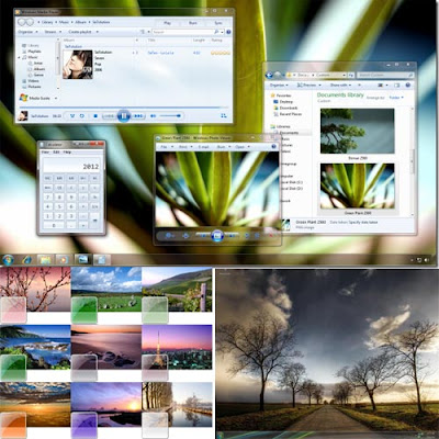 Free Wallpapers New Windows 7 Theme Easy To Install