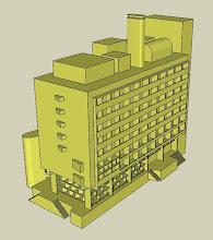 MODELO 3D DEL HOTEL DE TURISMO