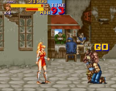 [Análise Retro Game] - Final Fight 2 e 3 - Super Nintendo Chun+Li+Final+Fight+2