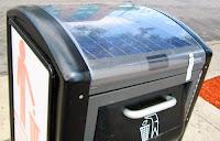 Basureros solares - blog de tecnologia