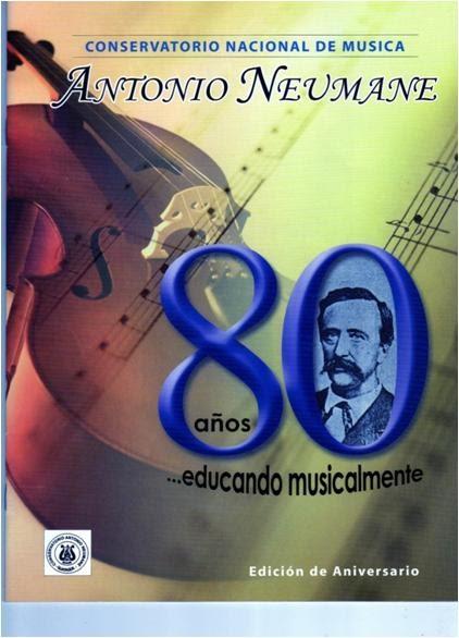 Conservatorio antonio neumane revista por el aniversario for Conservatorio de musica