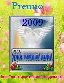 UNA JOYA PARA EL ALMA, otorgado por Manuel Ángel