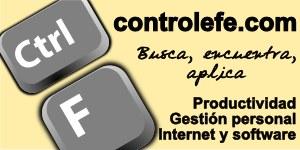 Productividad, gestión personal e informática y software en ControlEfe