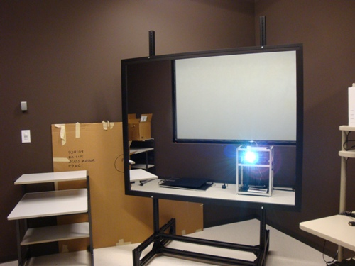 Depthq latest news lightspeed completes new depthq for Mirror hd projector