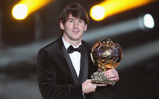 Lionel Messi,Real Madrid,Barcelona,FIFA Ballon d'Or Gala 2010