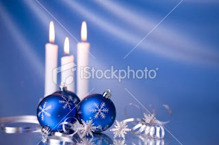 xmas candles wallpaper for desktops