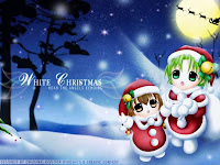 anime xmas desktop wallpaper