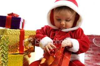Baby Santa Claus Desktop Wallpapers