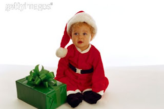 Baby Santa Claus Photo Desktop Wallpapers