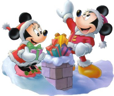 Free Mickey Mouse Christmas Clipart