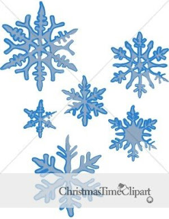 Christmas Snowflake Clipart | New Calendar Template Site