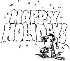 holiday coloring activity for xmas christmas holiday coloring pages