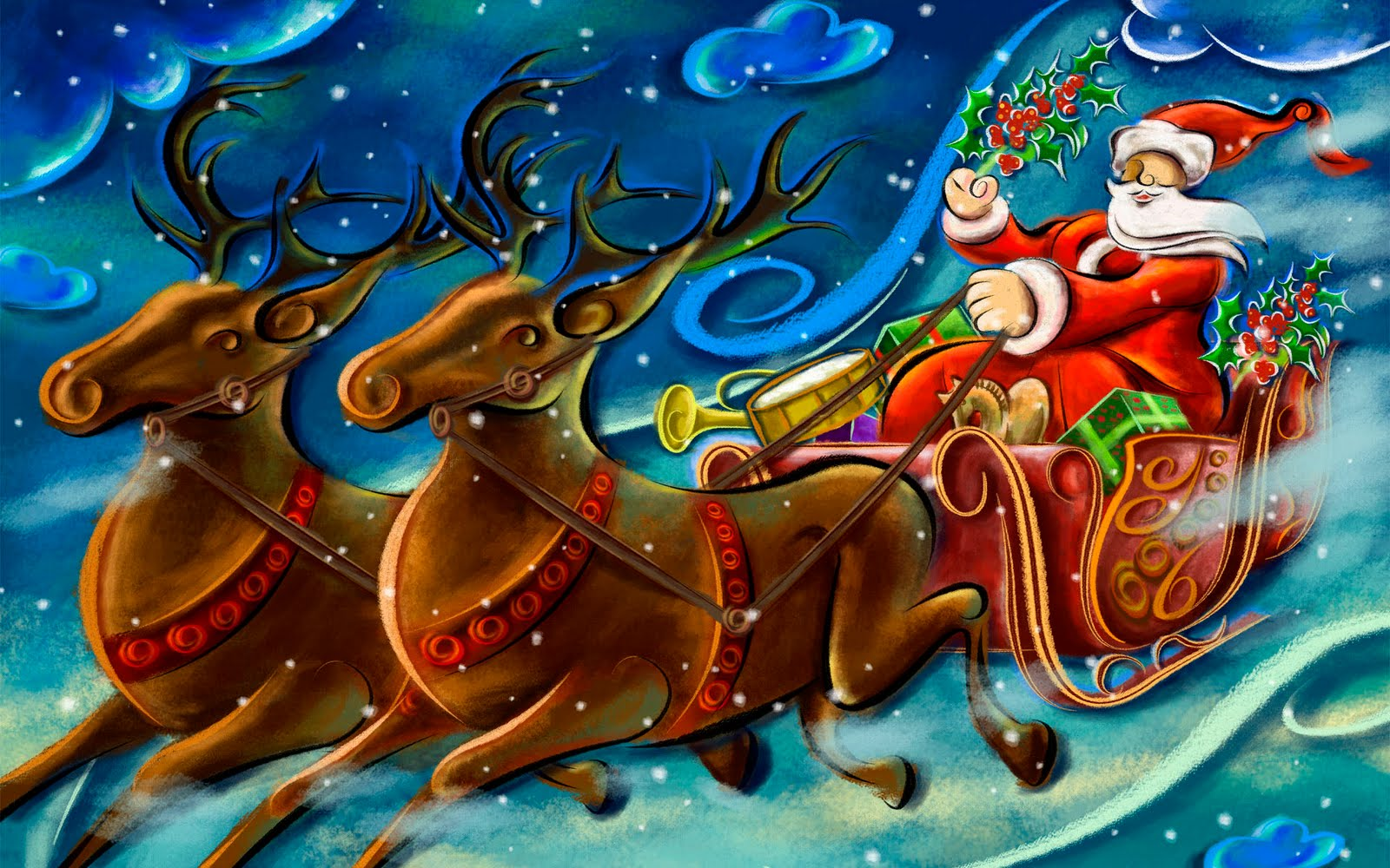 Best Christmas Desktop Wallpapers Collection