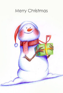 printable snowman christmas wishes