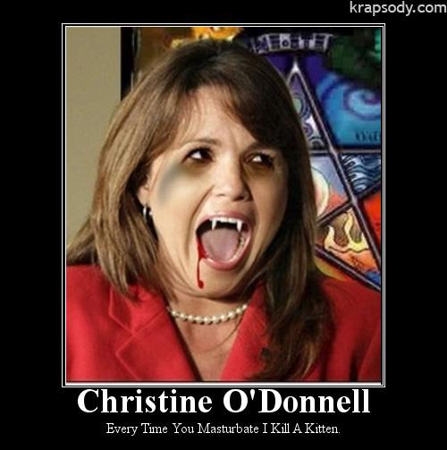Christine O'Donnell Evile